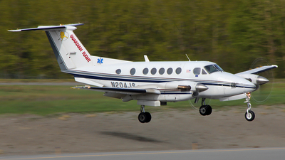 N204JS - Beechcraft 200 Super King Air - Guardian Flight