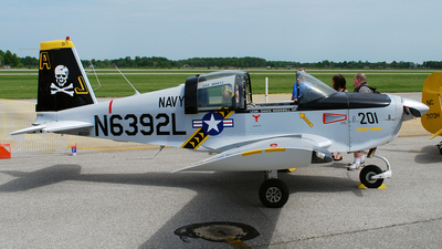 A picture of N6392L - Grumman American AA1B - [AA1A0392] - © DJ Reed - OPShots Photo Team