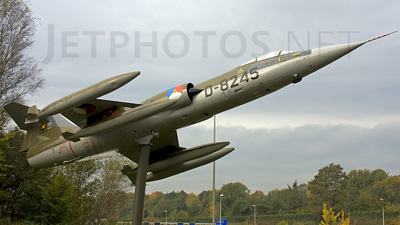 D-8245 - Lockheed F-104G Starfighter - Netherlands - Royal Air Force