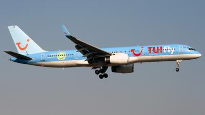 A picture of SERFO - Boeing 757204 - [25623] - © Javier Rodriguez - Amics de Son Sant Joan