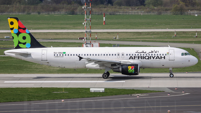 5A-ONA - Airbus A320-214 - Afriqiyah Airways