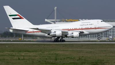 A6-SMR - Boeing 747SP-31 - United Arab Emirates - Amiri Flight
