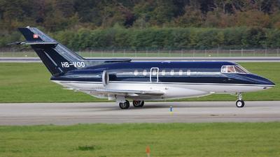 HB-VOO - British Aerospace BAe 125-1000A - Private