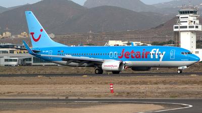 OO-JAH - Boeing 737-8K5 - Jetairfly