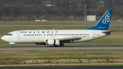 SX-BKT - Boeing 737-4Q8 - Olympic Airlines