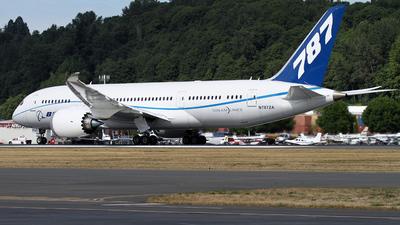 N787ZA - Boeing 787-8 Dreamliner - Boeing Company
