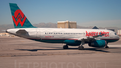 N622AW - Airbus A320-231 - America West Airlines