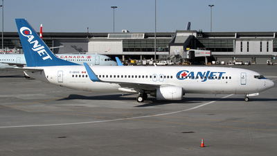C-GDGQ - Boeing 737-8FH - CanJet Airlines