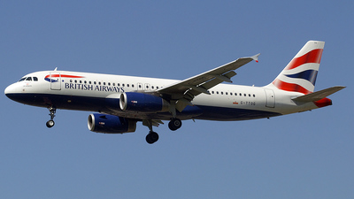 G-TTOG - Airbus A320-232 - British Airways (GB Airways)