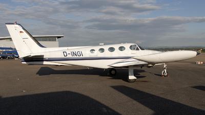 D-INGI - Cessna 340A - MSR Flug Münster