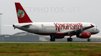 VT-KFL - Airbus A320-232 - Kingfisher Airlines