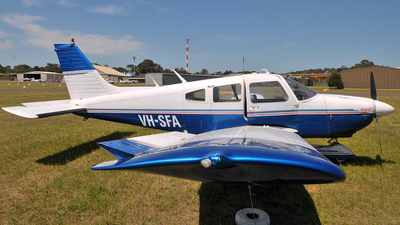 VH-SFA - Piper PA-28-181 Cherokee Archer II - Schofields Flying Club