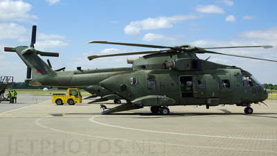 ZJ124 - Agusta-Westland Merlin HC.3 - United Kingdom - Royal Air Force (RAF)