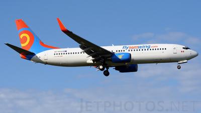 SE-RHS - Boeing 737-86N - Sunwing Airlines