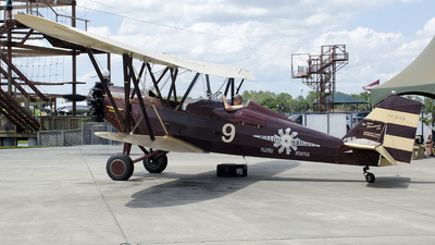NC9125 - New Standard D-25 - Waldo Wright's Flying Service
