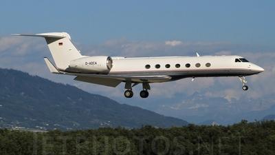 D-ADCA - Gulfstream G550 - DC Aviation