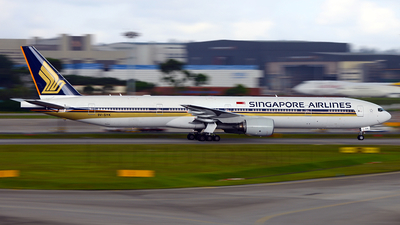 9V-SYK - Boeing 777-312 - Singapore Airlines