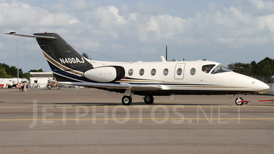 N400AJ - Beechcraft 400A Beechjet - Private