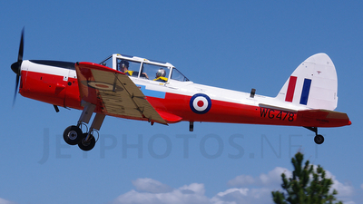 A picture of VHMMS - De Havilland Canada DHC1 Chipmunk - [C1/0528] - © DaveWilson