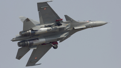 SB323 - Sukhoi Su-30MKI - India - Air Force
