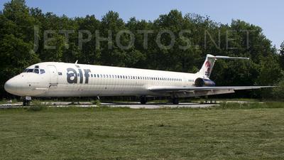 S5-ACC - McDonnell Douglas MD-82 - Aurora Airlines