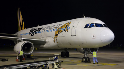 9V-TAD - Airbus A320-232 - Tiger Airways