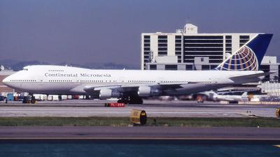 N33021 - Boeing 747-243B - Continental Micronesia