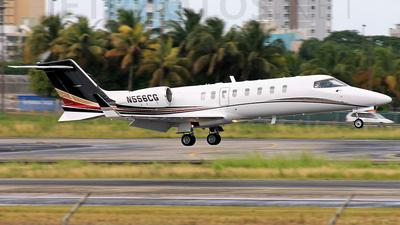 N556CG - Bombardier Learjet 45 - Private