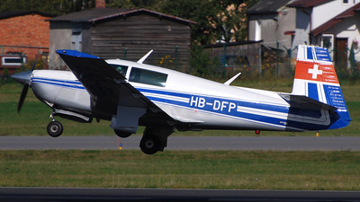 A picture of HBDFP - Mooney M20J - [240817] - © Piotr Trojan