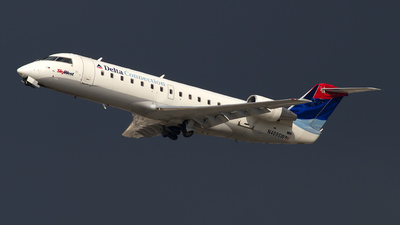 N409SW - Bombardier CRJ-100LR - Delta Connection (SkyWest Airlines)