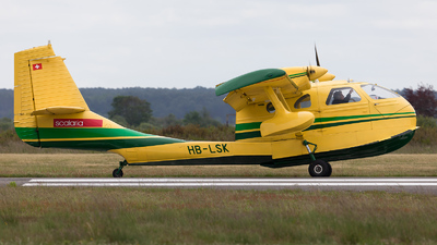 HB-LSK - STOL UC-1 Twin Bee - Private