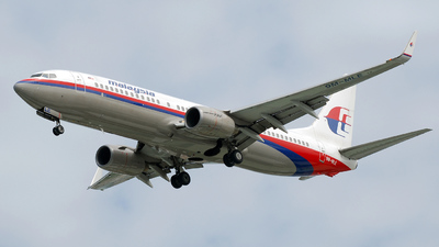 9M-MLE - Boeing 737-8FH - Malaysia Airlines