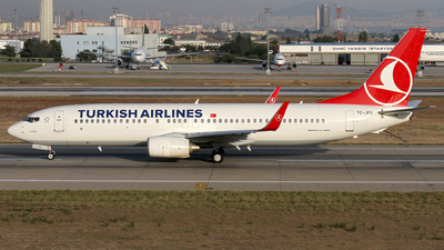 TC-JFU - Boeing 737-8F2 - Turkish Airlines