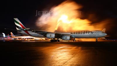 A6-ERC - Airbus A340-541 - Emirates