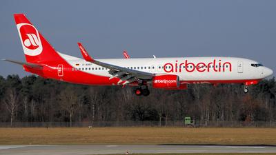 D-ABKF - Boeing 737-86J - Air Berlin
