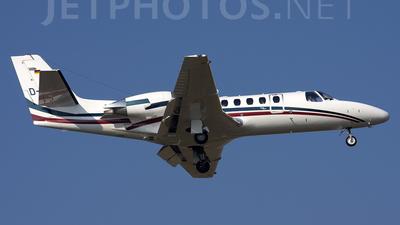 A picture of DCASA - Cessna 560 Citation Encore - [5600544] - © Roberto Bianchi