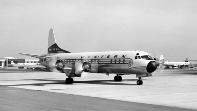 N7138C - Lockheed L-188A Electra - Western Airlines