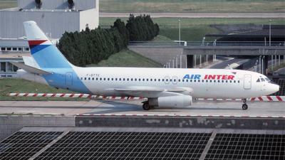 F-BTTE - Dassault Mercure 100 - Air Inter