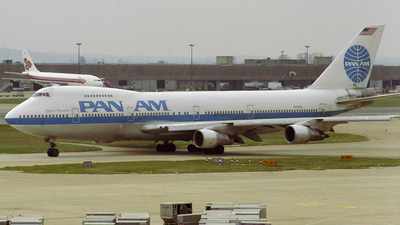 N724PA - Boeing 747-212B - Pan Am