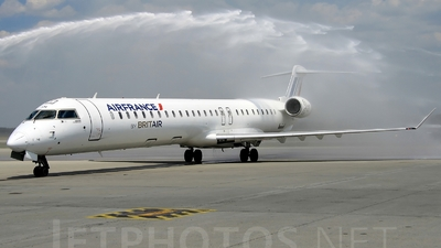F-HMLH - Bombardier CRJ-1000EL - Air France (Brit Air)
