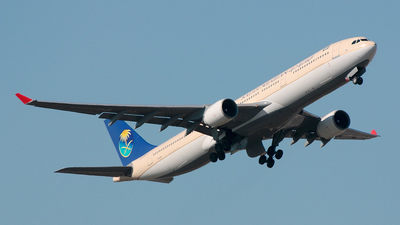 TC-OCD - Airbus A330-322 - Saudi Arabian Airlines (Onur Air)