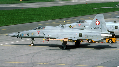 J-3052 - Northrop F-5E Tiger II - Switzerland - Air Force