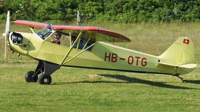 HB-OTG - Piper J-3C-65 Cub - Private