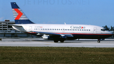 C-GCPS - Boeing 737-217(Adv) - Canadian Airlines International