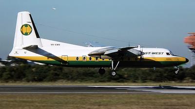 VH-EWU - Fokker F27-500 Friendship - East-West Airlines