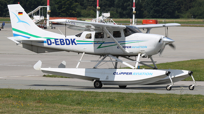 D-EBDK - Cessna T206H Stationair TC - Private