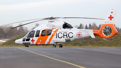 D-HAVY - Eurocopter EC 155B - ICRC - International Committee of the Red Cross (Heli Aviation)