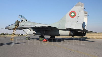 31 - Mikoyan-Gurevich MiG-29A Fulcrum - Bulgaria - Air Force
