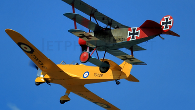 G-BVGZ - Fokker DR.1 - Private
