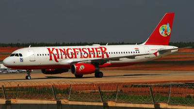 VT-KFV - Airbus A320-232 - Kingfisher Airlines